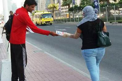 Door to Door Flyer Distribution Dubai